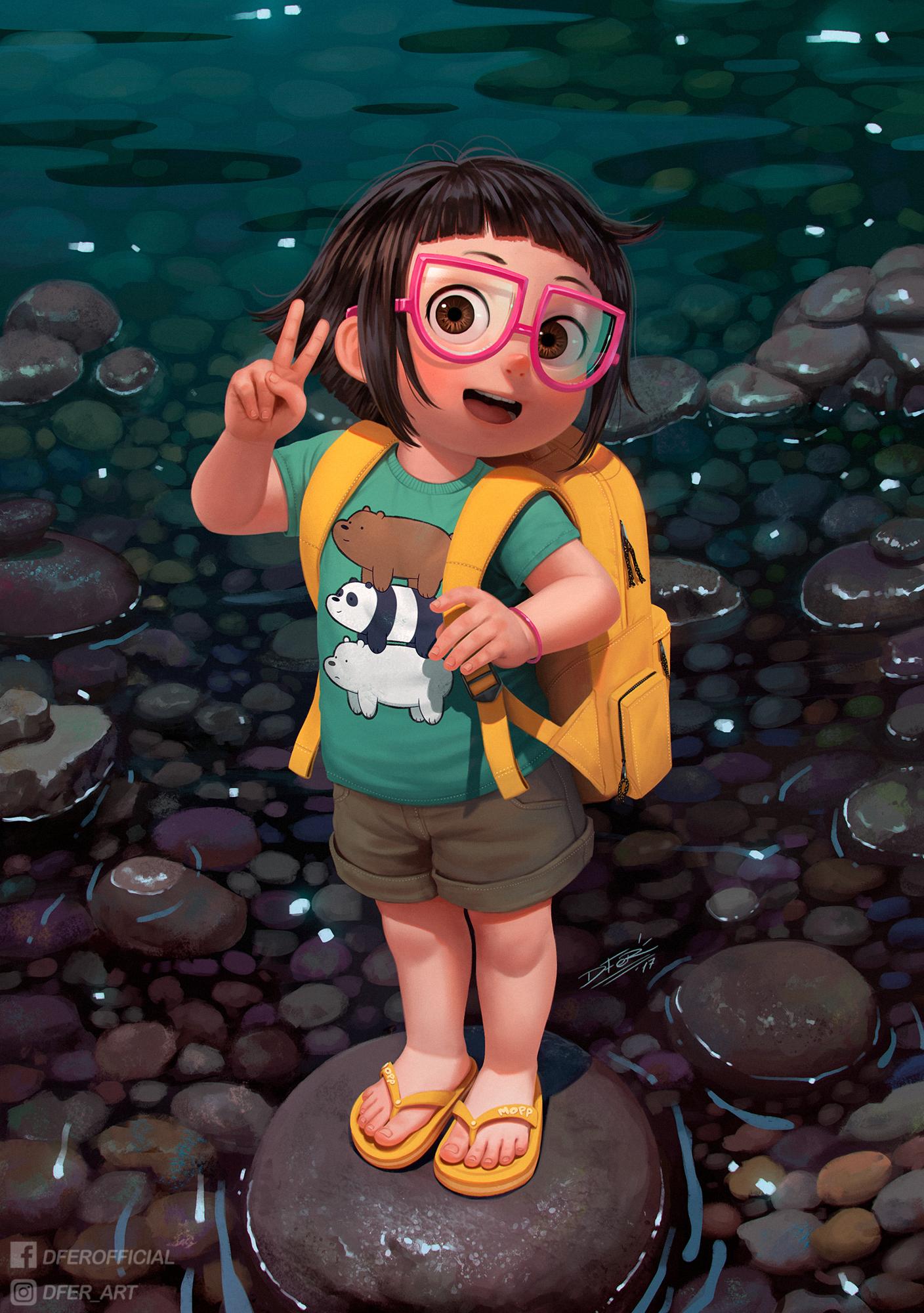 Lolibooru 3d  Chloe Park by DFer32