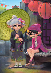 Marie and Callie by DFer32