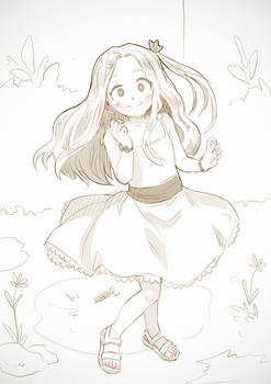 sketch commission - Eri