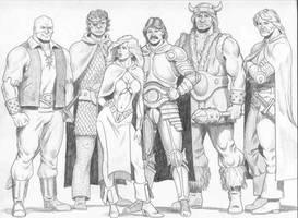 First Adventure Group by mjarrett1000