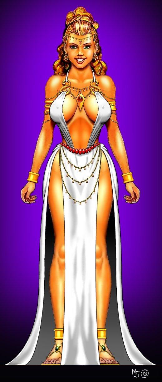 Sexy Princess Dress Design by mjarrett1000