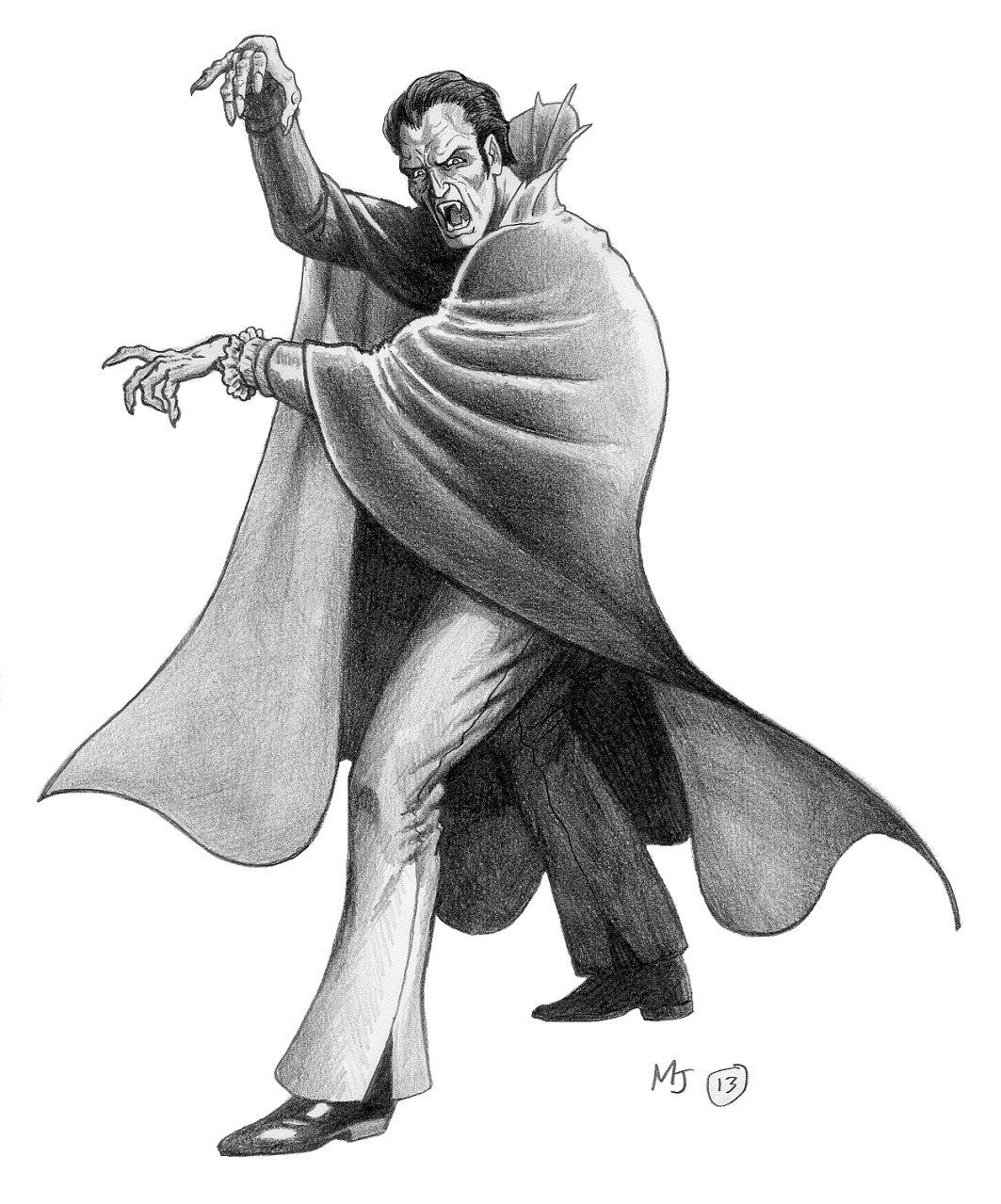Vorzan the Pseudo-Vampire by mjarrett1000