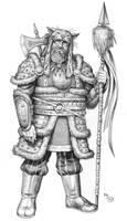 Jevhond Cliger of Chakyik (the Tiger Nomads) by mjarrett1000