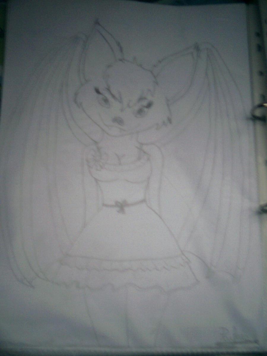 Furry Bat Female by psylvia