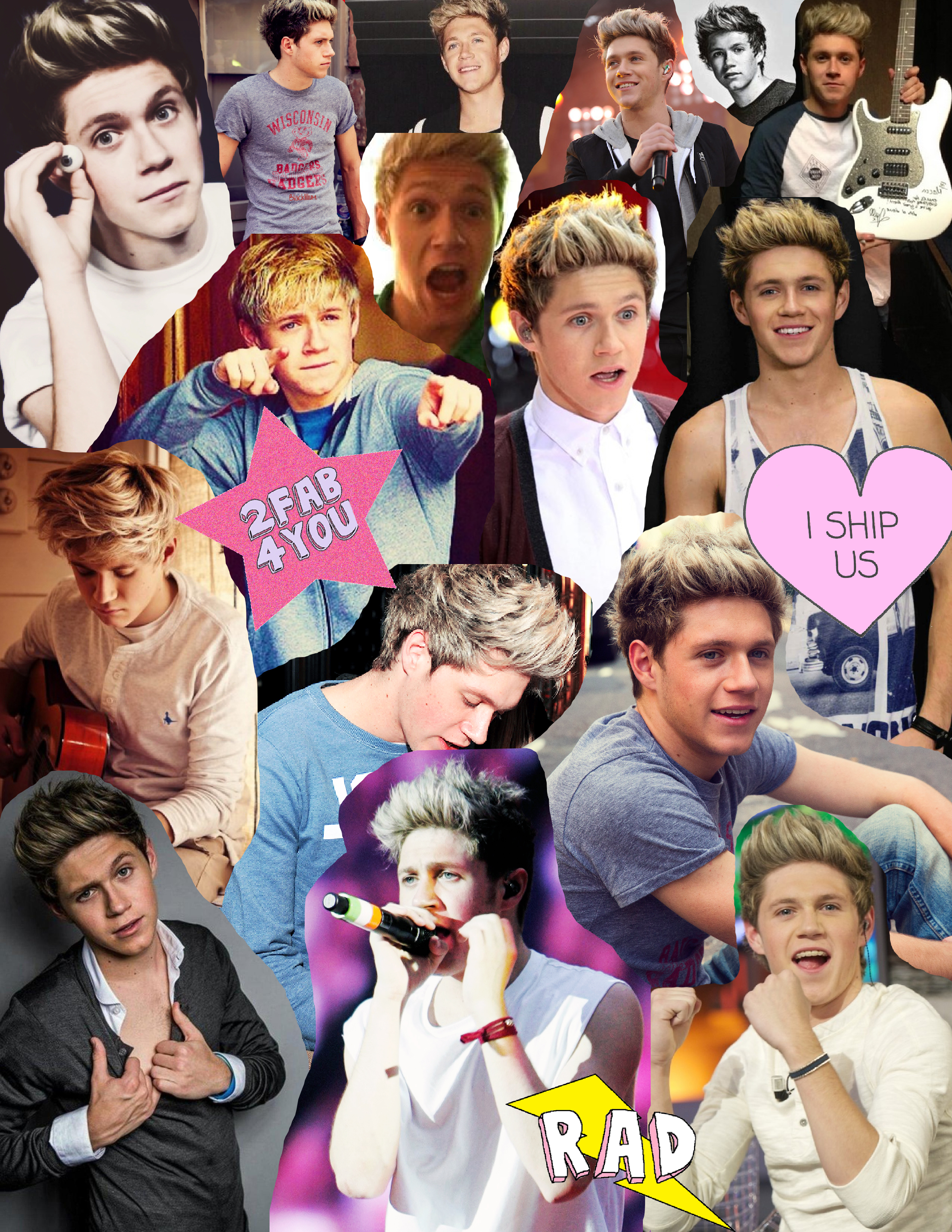 Niall Horan Collage by Woah-I-Didnt-Try on DeviantArt