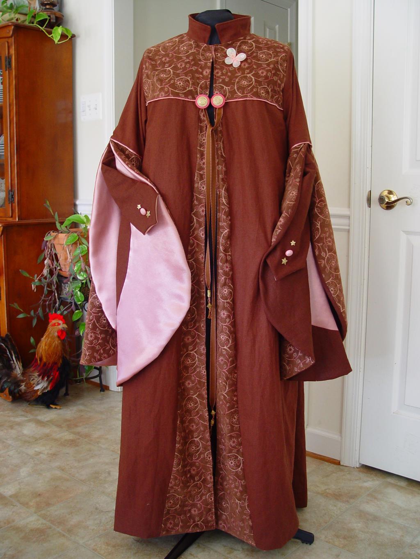Harry Potter Dress robe-Luna by magic-needle on DeviantArt