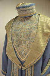 Close-up Dumbledore wizards robes by magic-needle