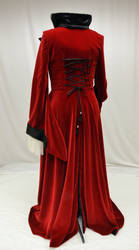 Evil Queen riding coat-back view by magic-needle