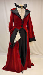 Evil Queen riding coat by magic-needle
