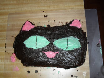 Trigun Cat Cake by KNO-108