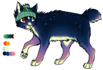 Space Cat Adoptable - CLOSED by spacedopts