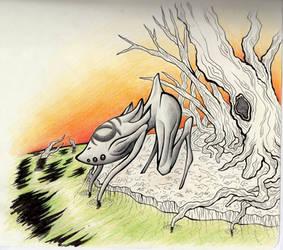 The Spindlelegger by OddyGaul