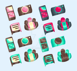 Android icon pack wip
