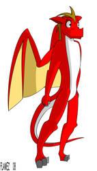 Flamez model by Flamez-the-dragon