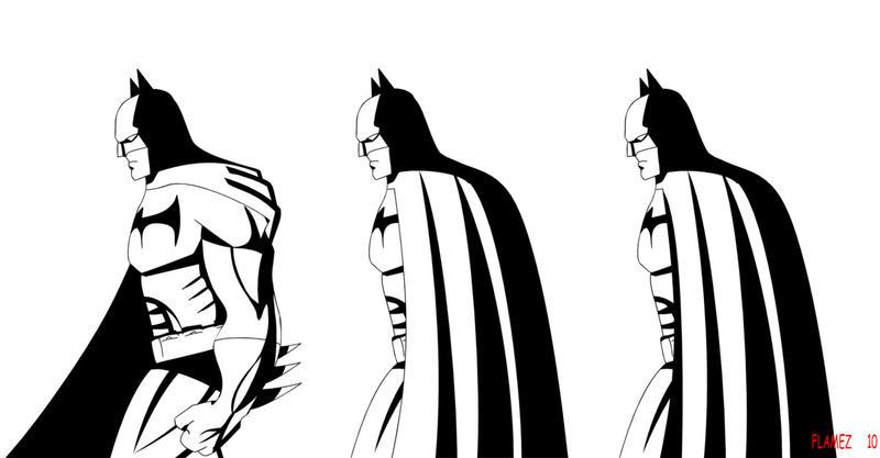 Batman Tattoo - shoulder tattoo