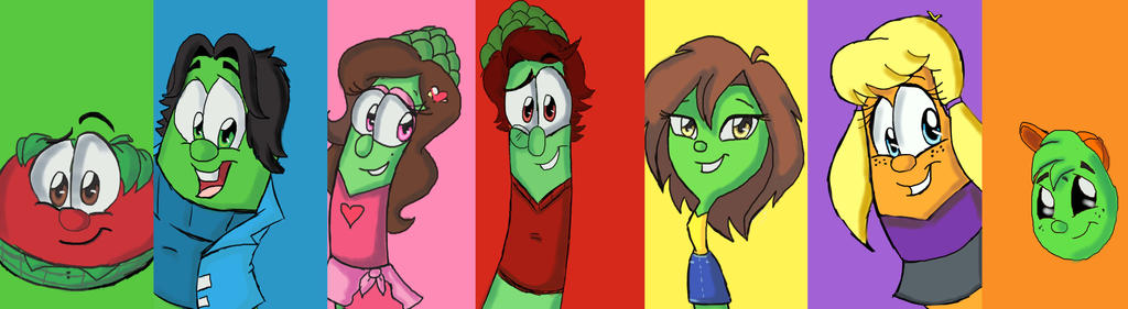 A harvest of colorful friends by danigirl1718