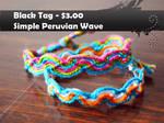Peruvian Wave by knotsforhope