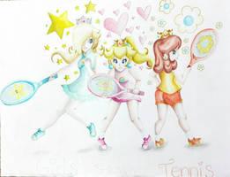 .:Girls Power Tennis:. by PrincessPeachFanLove