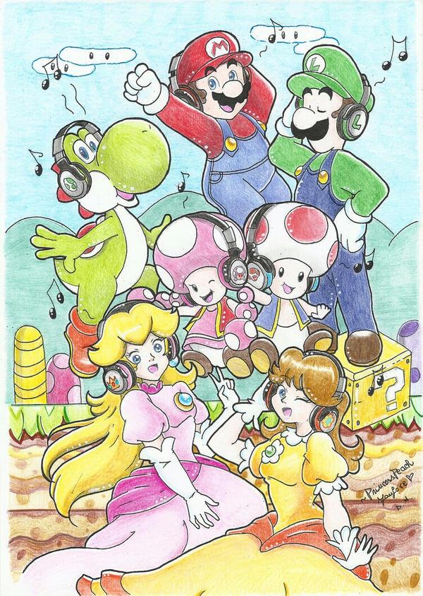 .:Super Mario Run ~ Daisy's Squad:. by PrincessPeachFanLove