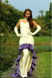 Wedding dress 2 by catsuitmodel