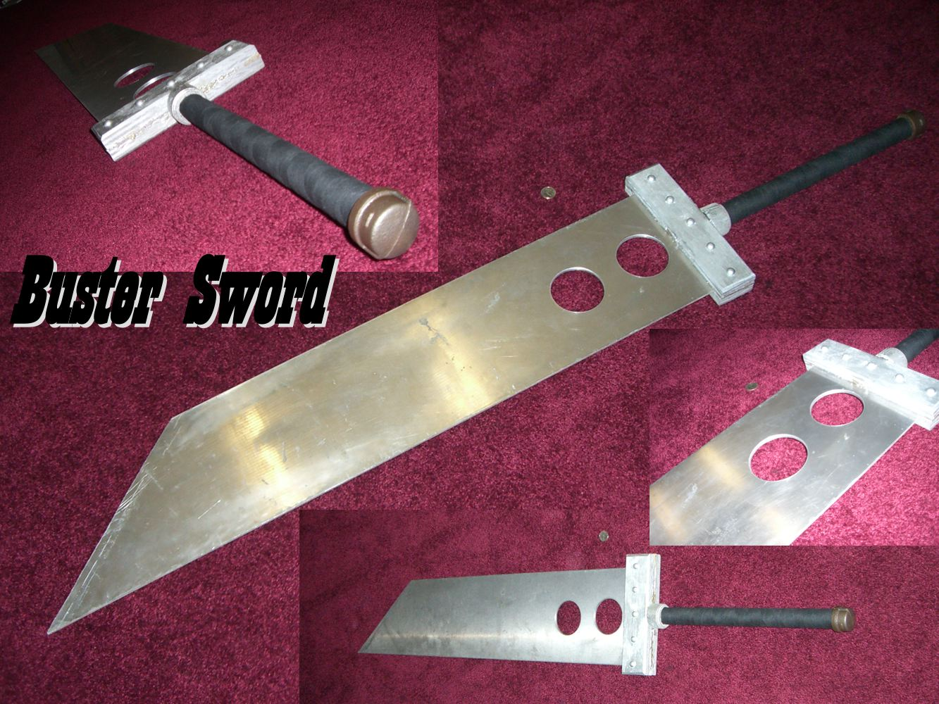 Real Buster Sword Buster Sword by Dinodude73