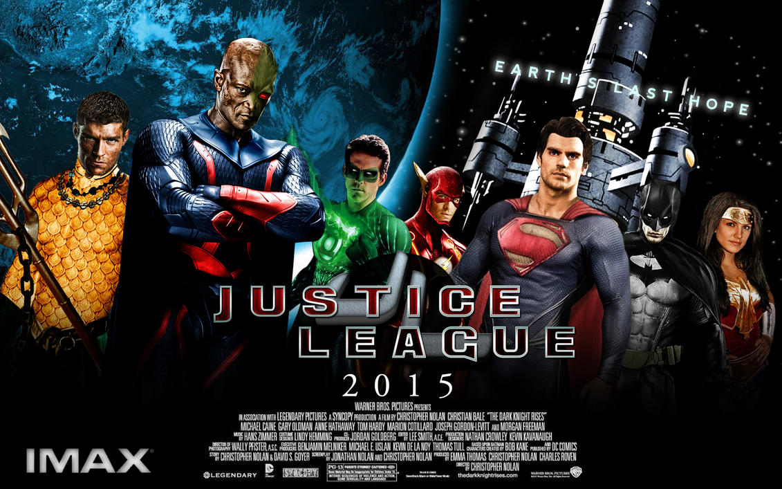 Movie Posters 2015: Fan-Posters: Justice League