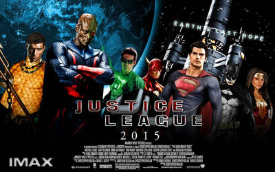Fan-Poster: Justice League (Banner)
