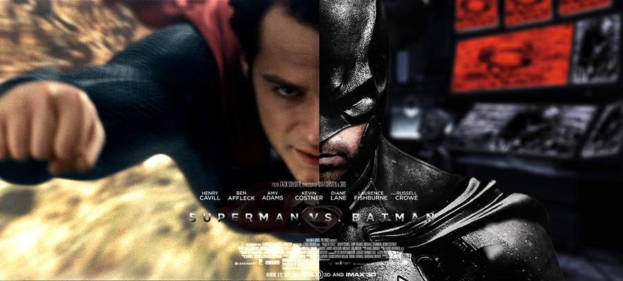 Fan-Poster: Superman VS. Batman (Banner)