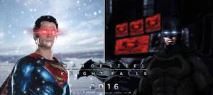 Fan-Poster: Man Of Steel: Knight Falls