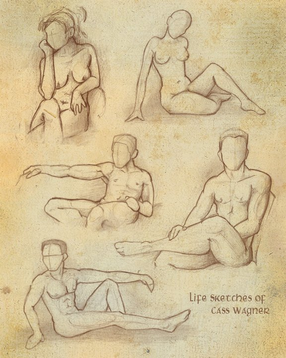 Life Sketches :mature content: by charfade