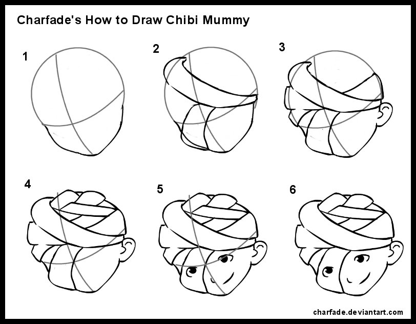 how to draw chybis 4chan