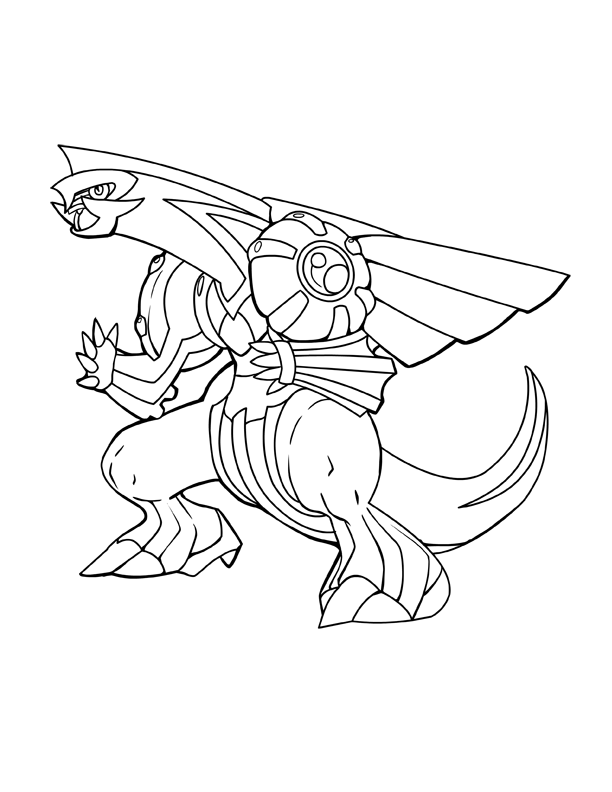 palkia coloring pages - photo#7
