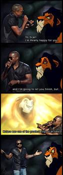 Kanye West vs. TLK meme 2 by charfade