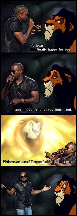Kanye West vs. TLK meme 2