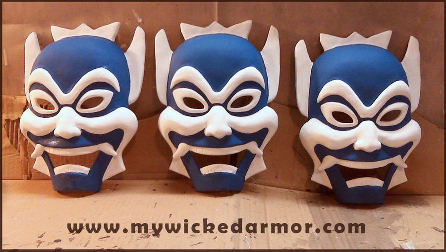 Avatar Blue Spirit Mask by charfade