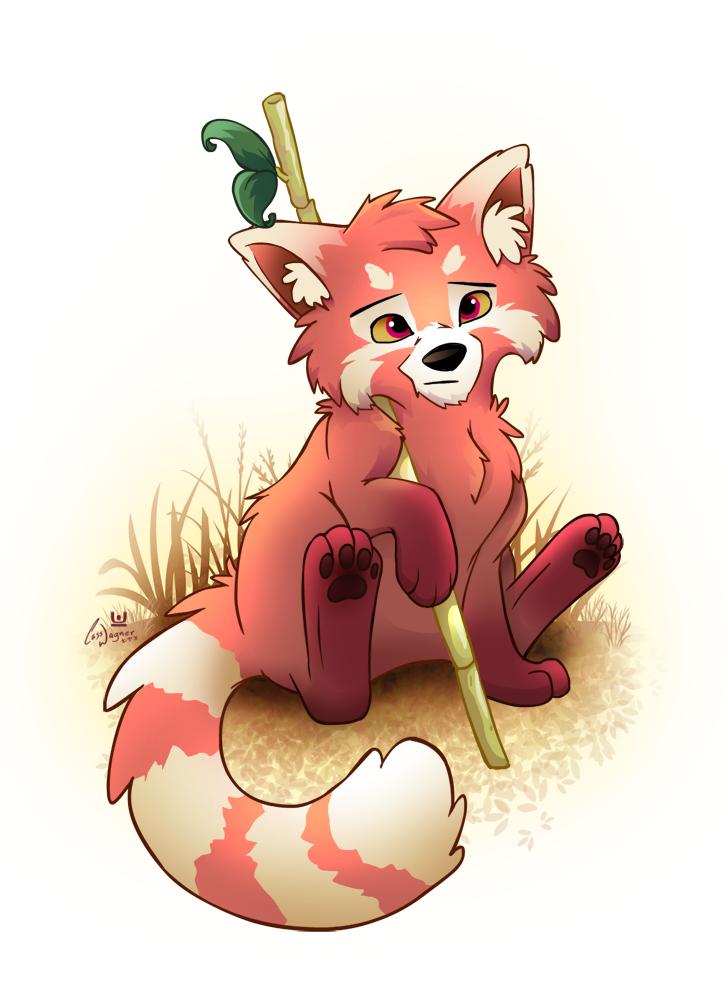 Red Panda Guard by charfade on deviantARTRed Panda Drawing Furry