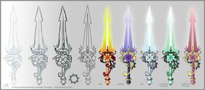 Clover Mech Energy Blades