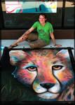 Chalk Art - Cause an Uproar
