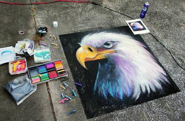 Side View Bald Eagle by charfade