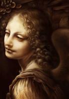 DaVinci MasterStudy Angel from Virgin in the Rocks by charfade