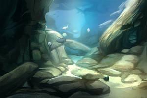Study underwater fish tank by charfade