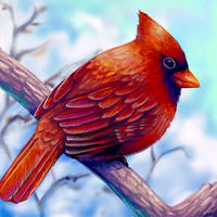 Cardinal Layer Paint by charfade