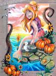 The Pumpkin Mermaid Chalk