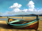 Speed Paint Study Beached Boat