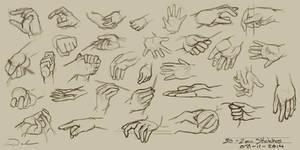 30 - 2min Hand Studies