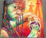 Michonne Chalk Art Final