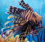 LionFish ChalkArt