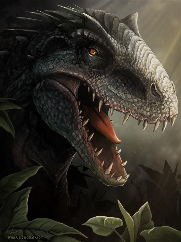 Indominus Rex by charfade on DeviantArt