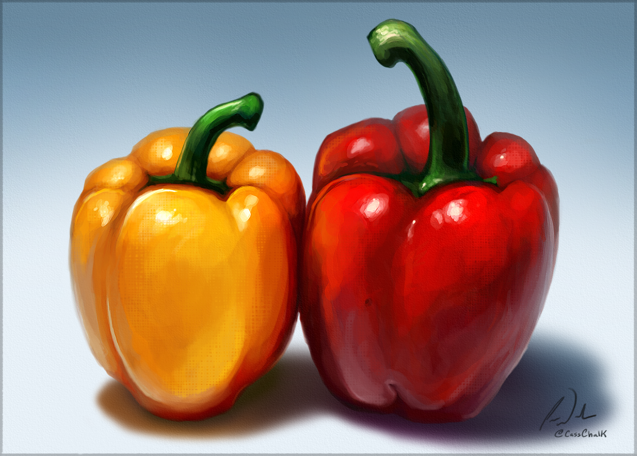 Bell Peppers Speed Paint