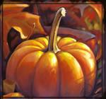 Pumpkin study speed paint close up